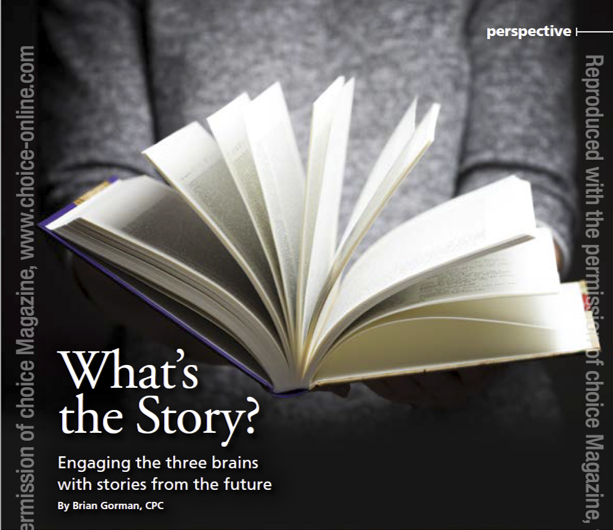 Free Download: What's the Story – Engaging the Three Brains with Stories from the Future